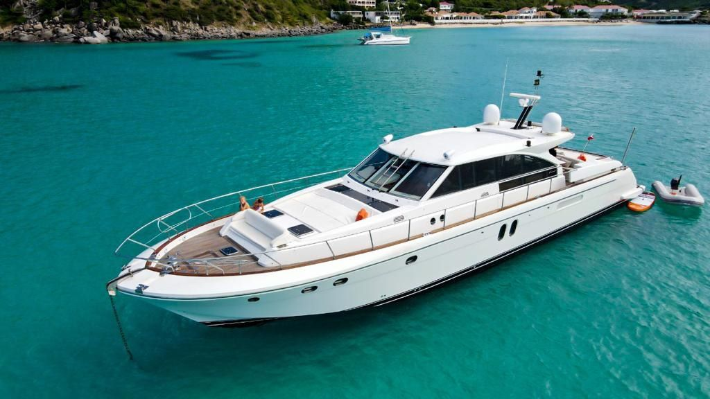 Couach Luxury Boat Sint Maarten Charters Anguilla, St Barths