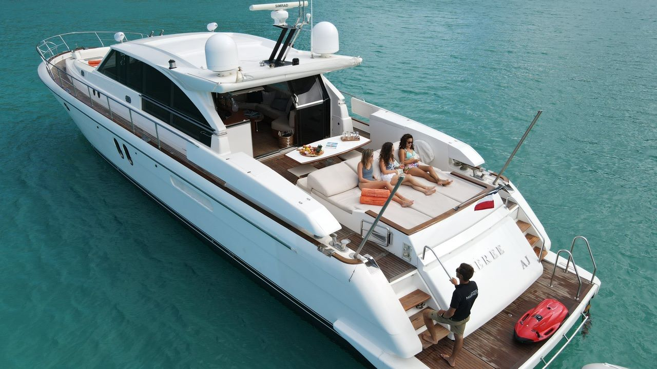 Caribbean marines Luxury Boat Charters St Barths Anguilla