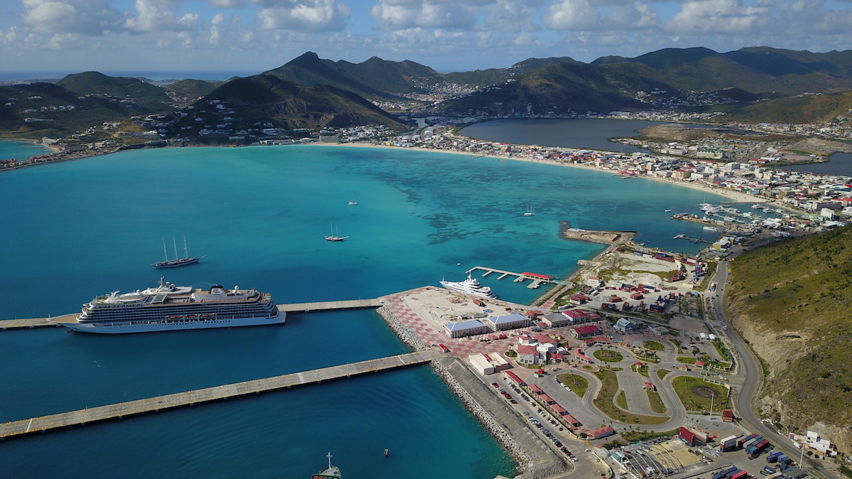 St Maarten cruise ship port